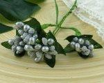 Ягодная гроздь серебряные