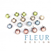 Набор декоративных брадс для скрапбукинга от Fleur design