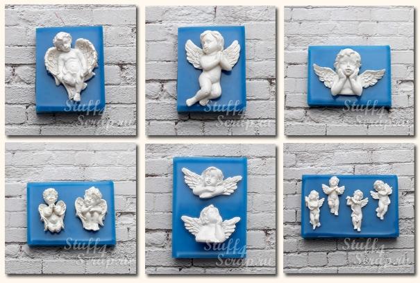 силиконовые формы ангелочки