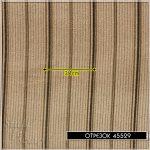 """Вельвет """"Старинные полосы"""", коричневый, 1/3 (90*35 см)"""