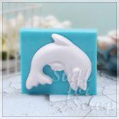 Дельфин (большой) Силиконовый молд для скрапбукинга