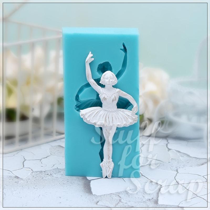 Балерина 1 Силиконовый молд для скрапбукинга