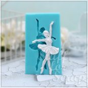 Балерина 2 Силиконовый молд для скрапбукинга