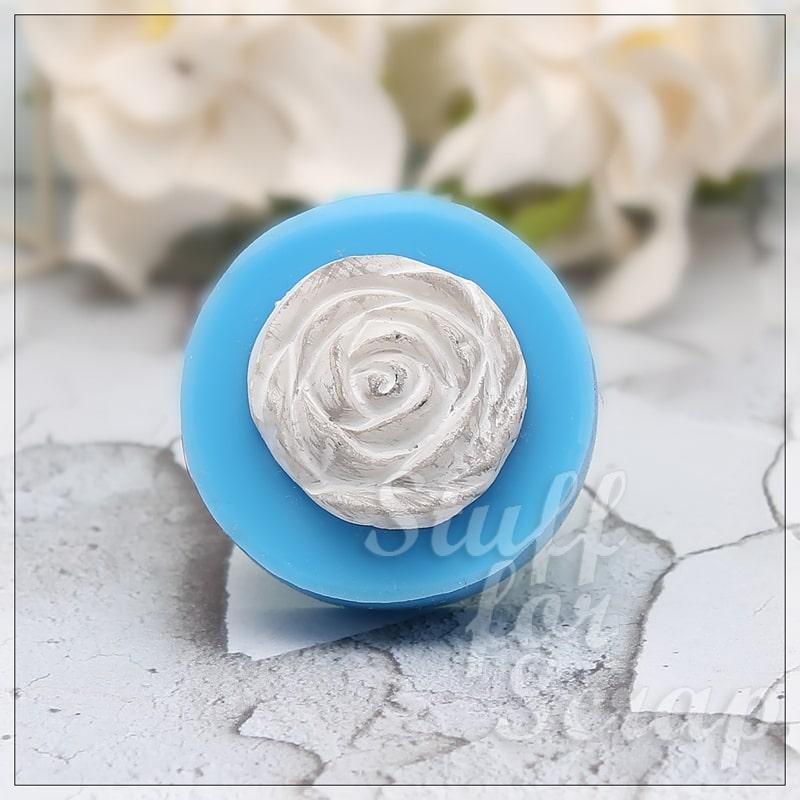 Цветок Розы 1 Силиконовый молд для скрапбукинга