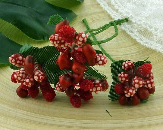 Ягодная гроздь красные