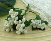 Ягодная гроздь белые