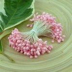 Тычинки двусторонние розовые 30 шт