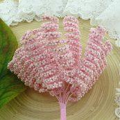 Тычинки спиральные розовые