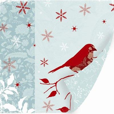 Бумага для скрапбукинга из коллекции Winter Song
