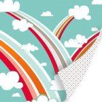 "Бумага из коллекции Corinne ""Head in the clouds"" (SEI) 30х30 см"