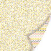 Бумага для скрапбукинга из коллекции Vanilla Sunshine