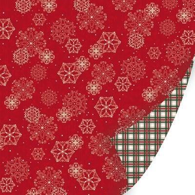 Бумага для скрапбукинга из коллекции Holiday Traditions