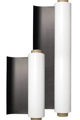 Магнитный винил на клеевой основе лист А4 (20х30 см)