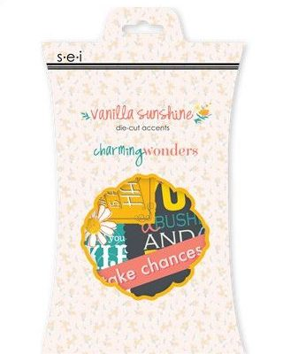 "Вырубка ""Charming wonders"" S.E.I. серии Vanilla sunshine"