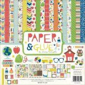 Набор бумаги для скрапбукинга Echo Park серии Paper&Glue