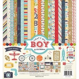 Набор бумаги для скрапбукинга Echo Park серии That's My Boy