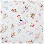 """Набор ткани """"Пастель Левитт"""", Корея, хлопок, 45х27,5 см"""