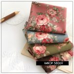 "Набор ткани ""Розмарин"", Корея, хлопок, 45х27,5 см."