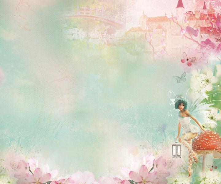 """Альбом для скрапбукинга коллекции """"Enchanted Garden"""" от Kaisercraft"""