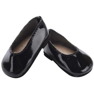 Лаковые туфли для куклы Тильды высотой 45 см.
