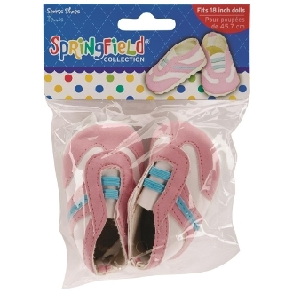 розовые кроссовки для шитья куклы и Тильды высотой 45 см