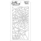 Пластиковый трафарет для скрапбукинга от Тима Хольца 10 х 20 см