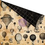 """Лист бумаги Prima """"Montgolfiere"""" серии """"Cartographer"""", 30х30см"""