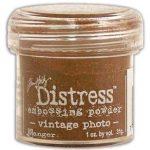 Пудра для влажного эмбоссинга Distress, винтаж фото, 31 гр.