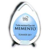 Штемпельная подушка Водорастворимые чернила для скрапбукинга Memento Dew Drop