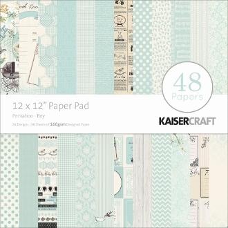 "Набор бумаги KaiserСraft серии ""Peekaboo"" для мальчика, 30Х30 см, 24 л."