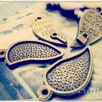 Металлические подвески шармы для скрапбукинга сердце