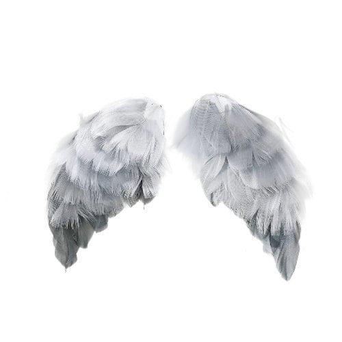 Декоративные крылышки из перьев для скрапбукинга