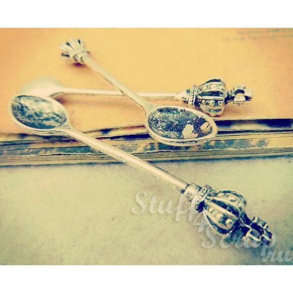 Металлические подвески шармы для скрапбукинга Винтажная ложка