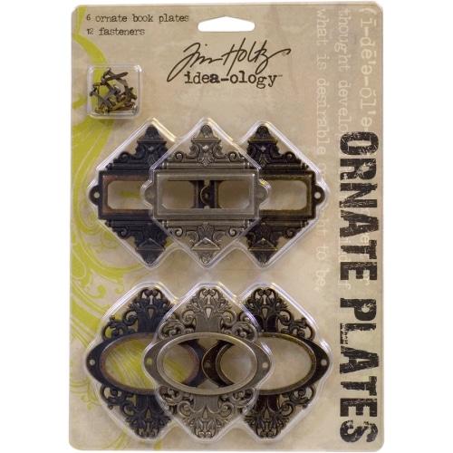 Декоративные металлические рамочки для скрапбукинга Tim Holtz Idea-ology