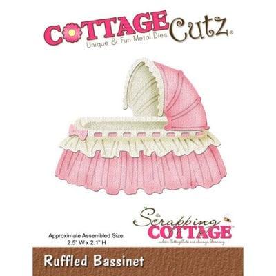 """Нож CottageCutz  """"Кроватка в рюшах"""""""