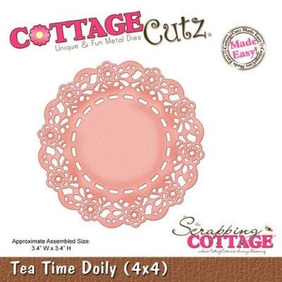 """Нож CottageCutz  """"Салфетка """"Tea Time"""""""