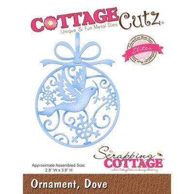"""Нож CottageCutz  """"Орнамент, Голубь"""""""