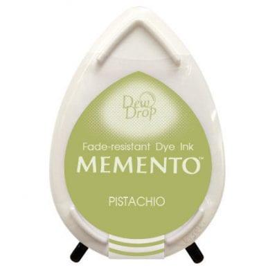 """Чернильная подушечка """"капля"""" Memento (TSUKINEKO), фисташковый"""