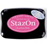 Чернильная подушечка StazOn (TSUKINEKO), ярко розовый