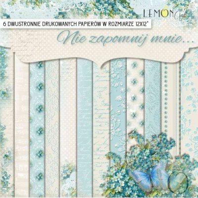 "Набор бумаги коллекции ""Незабудка"" (Lemon Craft), 6 л, 30,5х30,5 см"