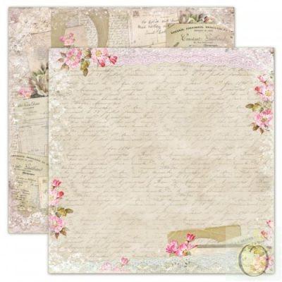 """Лист бумаги """"Старинные листы"""" коллекции """"Дом роз"""" (Lemon Craft), 30,5х30,5 см"""