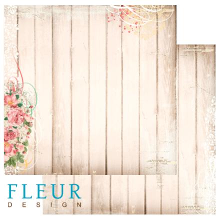 бумага для скрапбукинга от Fleur design