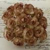Розочки кудрявые, тонированный темно коричневый, 3 см, 5 шт