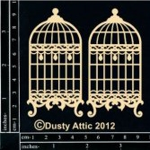 Чипборд Dusty Attic для скрапбукинга