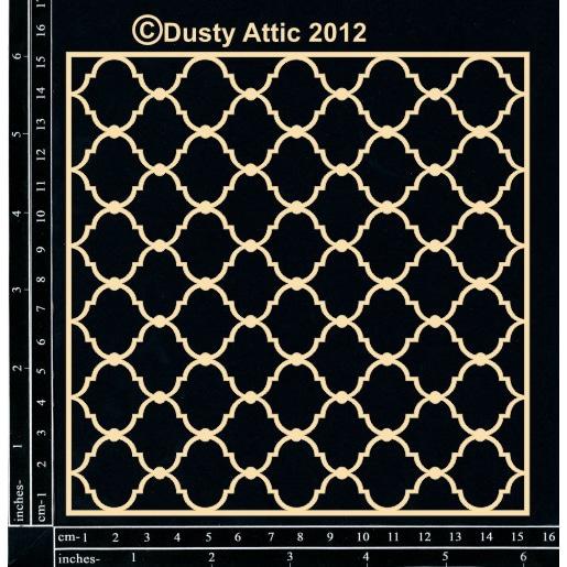 Чипборд Dusty Attic для скрапбукинга