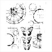 Трафарет и маски для скрапбукинга от Crafters Workshop
