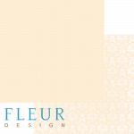 """Лист бумаги """"Телесный"""", коллекция """"Шебби Шик Базовая"""", 30х30 см (Fleur design)"""