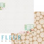 """Лист бумаги """"Ветер"""", коллекция """"Натюр"""", 30х30 см (Fleur design)"""