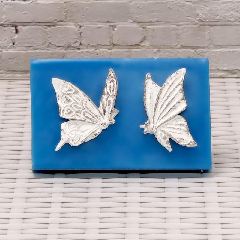 Силиконовые формы и молды для скрапбукинга, мастики и мыла бабочки