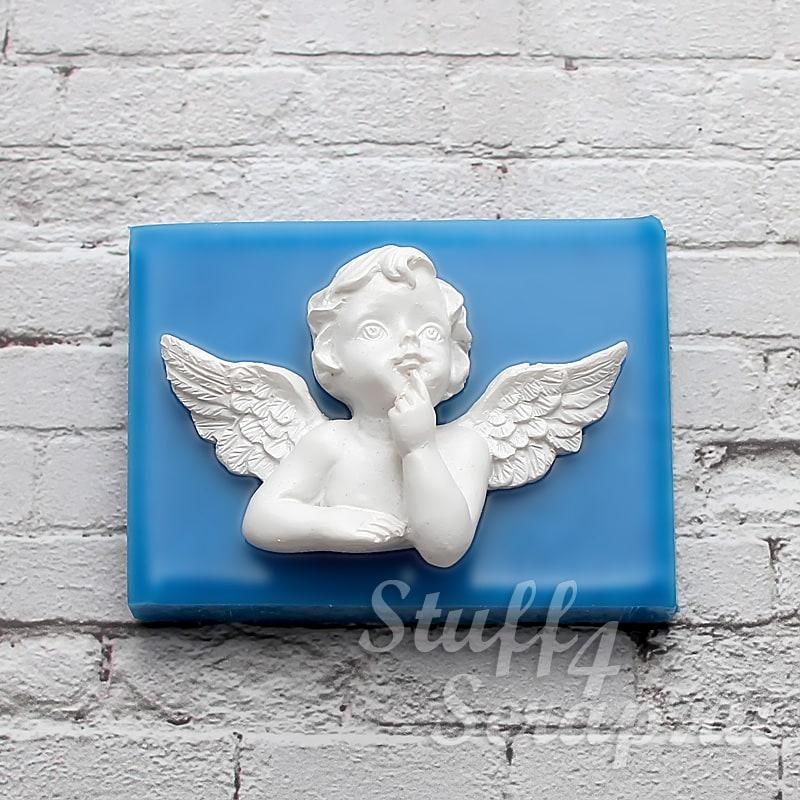 Силиконовые формы и молды для скрапбукинга, мастики и мыла ангелочки